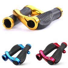 New Bike Bicycle Handlebar Rubber Grips MTB Mountain Cycling Lock-On Handle Ends