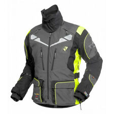 Rukka Orivesi Grey Fluo Yellow Gore-tex Mens Motorcycle Jacket D30 Armour