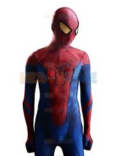 Marvel The Amazing Spiderman Costume kids/adult Spandex Fullbody Zentai Suit