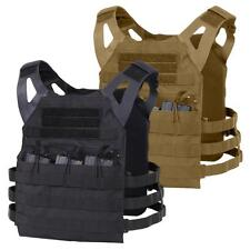 Lightweight Plate Carrier Tactical Vest Rothco Black or Brown Mag Pouch Vests