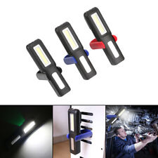 USB Rechargeable 3W COB LED Work Light Magnetic Emergency Flashlight Torch Lamp