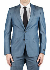 Prada Men's Virgin Wool Mohair Two-Button Suit Blue