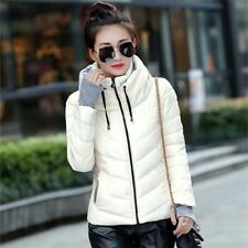 Winter Style Full Sleeve Solid Pattern Cotton Material Outwear Jacket for Women