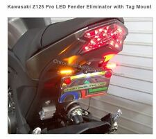 KAWASAKI Z125 PRO LED FENDER ELIMINATOR WITH TAG MOUNT