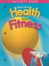 Harcourt Health and Fitness Activity Book, Grade 3 - PAPERBACK ** Brand New **