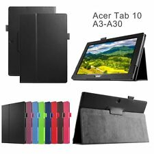 PU Leather Folding Stand Case Cover Protector Pouch F Acer Iconia Tab 10 A3-A30