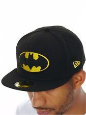 New Era Black-Yellow Character Essential 59Fifty Batman Fitted Cap