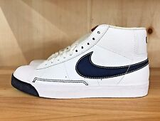 NIKE BLAZER HIGH WHITE OBSIDIAN SPORT RED CASUAL MEN SZ 11.5  315877-103