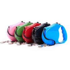 Retractable Dog Leash Pet Lead Automatic Rope Walking Traction Cat Puppy Leashes
