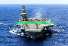 Aircraft Carrier USS Theodore Roosevelt CVN-71 Photo USN Military Color CVN 71