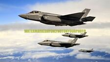 USAF Aircraft F-35A Color Photo Military 2017 Hill Air Force Base Jet Plane