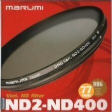 Marumi 67mm 67 DHG Vari ND ND2 to ND400 400 Neutral Density Fader filter Japan D