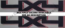 4X4 TRUCK BED SIDE DECAL OFF ROAD CHEVY DODGE FORD NISSAN TOYOTA RAM SILVERADO