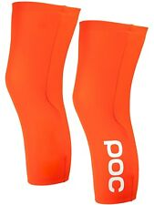POC Zink Orange 2017 AVIP Fluo Knee Warmers - Pair