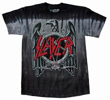 Slayer Eagle T-Shirt Hard Rock Thrash Metal Music Band Cotton Tee