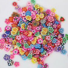 1000X Nail Art 3D Fruit Flower Polymer Clay Slices DIY Decoration Sticker Virtuo