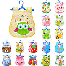 Infant Baby Boy Girl Bibs Waterproof Saliva Towel Cartoon Bib Feeding Bandana