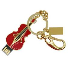 4-64GB Storage USB Flash Drive Memory Stick Mini Pen-Drive Violin for Laptop
