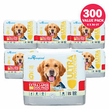 100/300 XL Puppy Pads 28x30 Puppy Training Pads Dog Pee Wee Wee Pads Extra Large