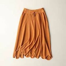 Women Knit Pleated Above Knee Black color Skirts GR222