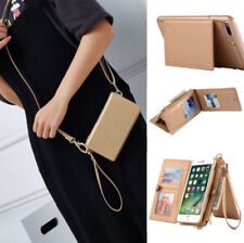 Genuine Leather Coke Wallet Purse Flip Holder Case Cover for iPhone 6S 7 Plus