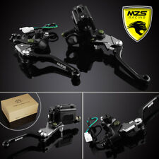 MZS Brake Master Cylinder Reservoir Levers For YZ80/85 KX85 KX65 RM125/250 CR80R