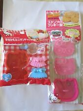Hello Kitty Biscuit Shaped Food Bread Mold with Pins Cookie Cutter