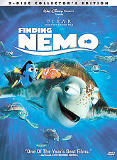 Finding Nemo Collectors Edition (DVD, 2003, 2-Disc Set)