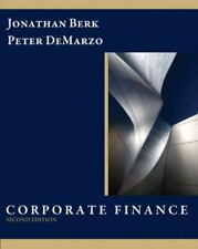 Corporate Finance by Peter DeMarzo and Jonathan Berk (2010, Hardcover) NEW