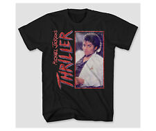 Michael Jackson Thriller Box Retro Vintage 1982 - Mens Graphic Tee T Shirt