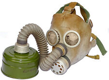 Soviet Kids Gas Mask With Filter & Bag baby childrens Russian Army civil defense