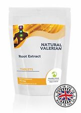 Valeriana Root Extract Herb Food Supplement 30/60/90/120/180 Tablets