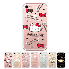 Hello Kitty Icon Cutie Jelly Protect Bumper Cover Case For Apple iPhone 6 / 6S
