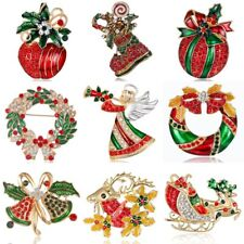 Xmas Christmas Women Wedding Party Jewelry Colorful Angel Brooch Pin Broach New