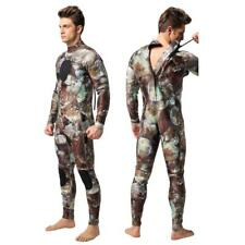 Men 3mm Camouflage Wetsuit for Scuba Diving Swimming Surfing Wakeboarding Kayak