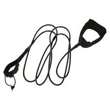 6-10ft 7mm Straight SUP Surfing Surf Board Leash & Padded Neoprene Ankle Strap
