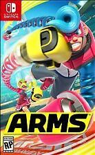 Arms (Nintendo Switch, 2017) Brand New and Factory Sealed