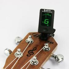 Chromatic Clip-On Digital Tuner For Acoustic Electric Guitar Bass Violin Ukulele