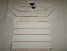 TOMMY HILFIGER POLO T-SHIRT MENS SIZE XXL IVORY COAST NEW WITH TAGS