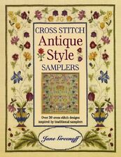 CROSS STITCH ANTIQUE STYLE SAMPLERS: OVER 30 CROSS STITCH DESIGNS BY JANE NEW