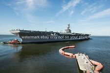 USS THEODORE ROOSEVELT CVN-71 Color Photo USN Military  Carrier CVN 71 2013