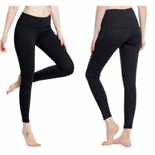 Women's Yoga Fitness Pants Leggings Workout Gym Sport Elasticity Skinny Tights