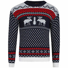 Xmas Ladies Mens Novelty Christmas Sweater Retro Vintage Unisex Womens Jumper