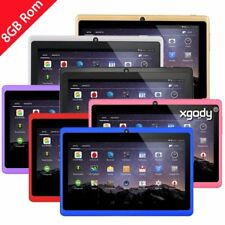 XGODY 7'' Tablet PC - Android 4.4 KitKat Quad Core 8GB HD 1024X600 WiFi Webcame