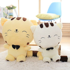 Cute Big Face Smile Cat Plush Stuffed Toys Soft Animal Dolls Christmas Gift
