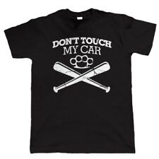 Don'T Touch My Car Mens Funny T Shirt - Birthday Gift for Dad Him Fathers Day