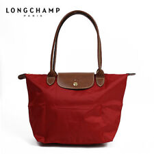 Longchamp Le Pliage 1899 Tote Womens Red Bag Large