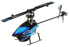 RC Helicopter WL Toys Single Blade 6Ch Brushed Flybarless RTF 2.4Ghz