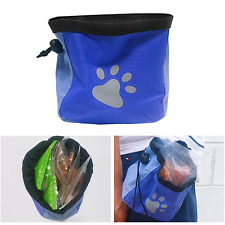 Pet Puppy Dog Snack Basket Multi Bag Training Walking Food Treat Pouch / Blue
