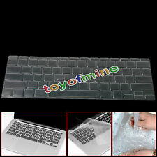 "Ultra Thin Clear TPU Keyboard Cover Skin for Macbook Pro Retina  13"" 15"" Air 11"""